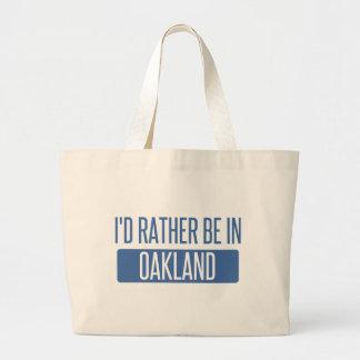 I'd rather be in Oakland Park Large Tote Bag