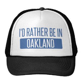 I'd rather be in Oakland Park Trucker Hat