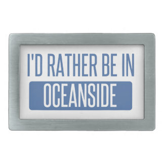 I'd rather be in Oceanside Belt Buckles