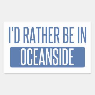 I'd rather be in Oceanside Sticker