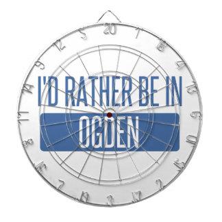 I'd rather be in Ogden Dartboard