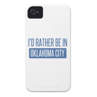 I'd rather be in Oklahoma City iPhone 4 Cover