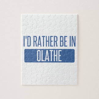 I'd rather be in Olathe Jigsaw Puzzle