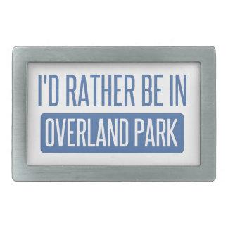 I'd rather be in Overland Park Belt Buckle