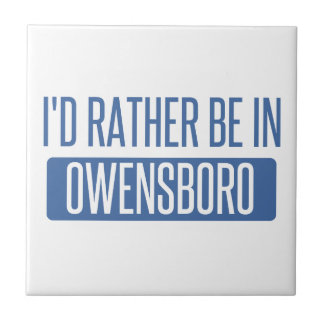 I'd rather be in Owensboro Tile