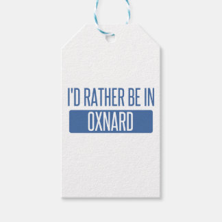 I'd rather be in Oxnard Gift Tags