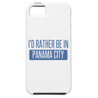 I'd rather be in Panama City iPhone 5 Cover