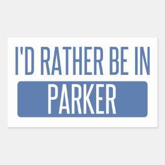 I'd rather be in Parker Sticker