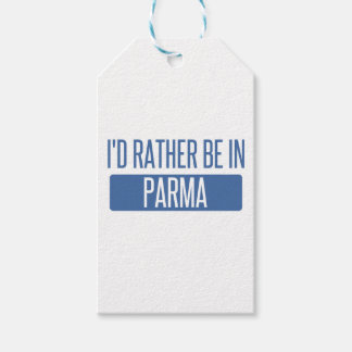 I'd rather be in Parma Pack Of Gift Tags