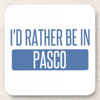 I'd rather be in Pasco Coaster