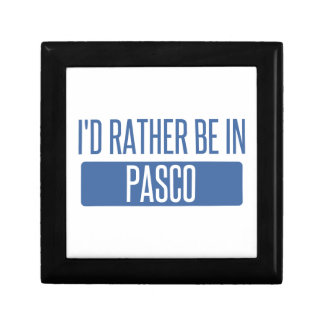 I'd rather be in Pasco Gift Box