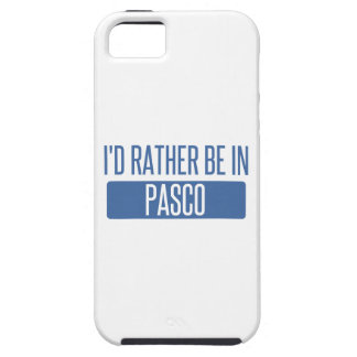I'd rather be in Pasco iPhone 5 Case