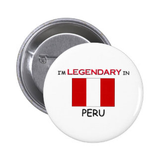 I'd Rather Be In PERU 2 Inch Round Button
