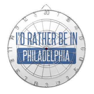 I'd rather be in Philadelphia Dartboard