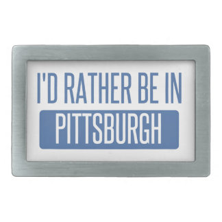 I'd rather be in Pittsburgh Belt Buckles