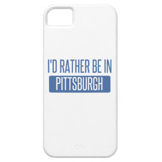 I'd rather be in Pittsburgh iPhone 5 Case