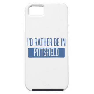 I'd rather be in Pittsfield Case For The iPhone 5