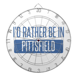 I'd rather be in Pittsfield Dartboard