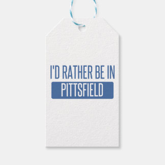 I'd rather be in Pittsfield Gift Tags