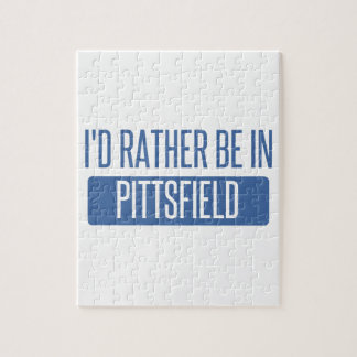 I'd rather be in Pittsfield Jigsaw Puzzle
