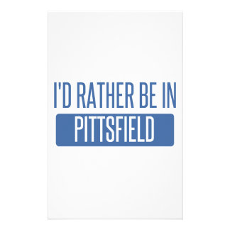 I'd rather be in Pittsfield Stationery