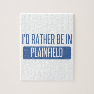 I'd rather be in Plainfield IL Jigsaw Puzzle