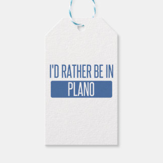 I'd rather be in Plano Pack Of Gift Tags