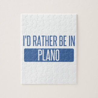 I'd rather be in Plano Puzzle