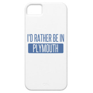 I'd rather be in Plymouth Case For The iPhone 5