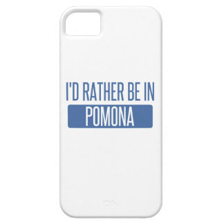 I'd rather be in Pomona iPhone 5 Case