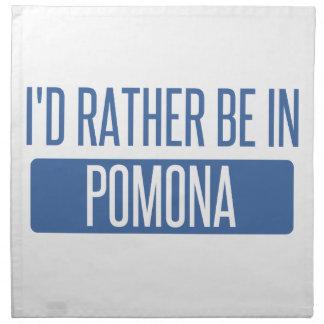 I'd rather be in Pomona Napkin