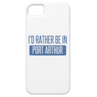 I'd rather be in Port Arthur Case For The iPhone 5