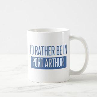 I'd rather be in Port Arthur Coffee Mug