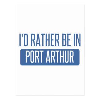 I'd rather be in Port Arthur Postcard