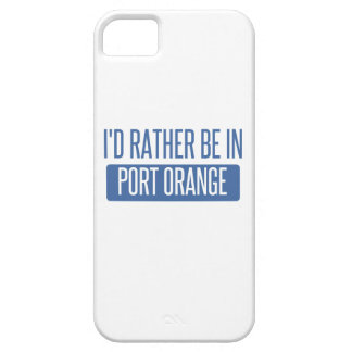 I'd rather be in Port Orange iPhone 5 Cover