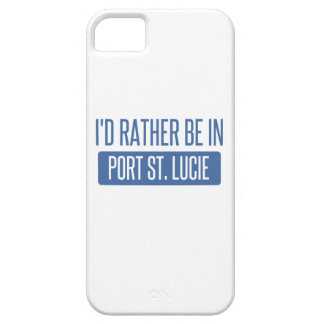 I'd rather be in Port St. Lucie iPhone 5 Case
