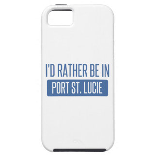 I'd rather be in Port St. Lucie iPhone 5 Cover