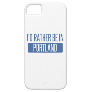 I'd rather be in Portland ME iPhone 5 Cover