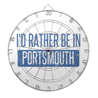 I'd rather be in Portsmouth Dartboard