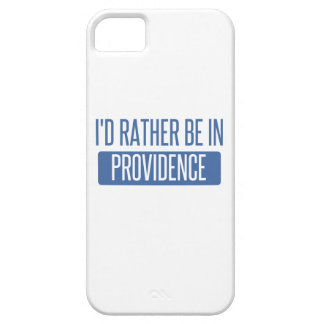 I'd rather be in Providence iPhone 5 Covers