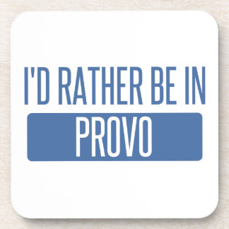 I'd rather be in Provo Coaster