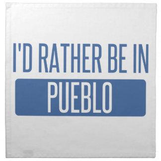 I'd rather be in Pueblo Napkin