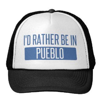 I'd rather be in Pueblo Trucker Hat