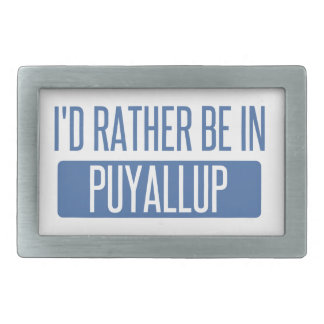 I'd rather be in Puyallup Belt Buckles