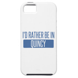 I'd rather be in Quincy IL iPhone 5 Cases