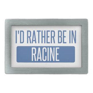 I'd rather be in Racine Belt Buckle