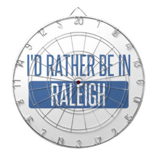 I'd rather be in Raleigh Dartboard