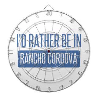 I'd rather be in Rancho Cordova Dart Board