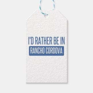 I'd rather be in Rancho Cordova Pack Of Gift Tags