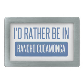 I'd rather be in Rancho Cucamonga Belt Buckles